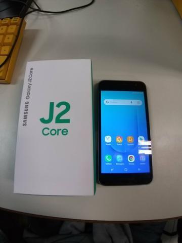 Samsung J2 Core novo ganhei na campanha do trabalho aceito propostas - Foto 2