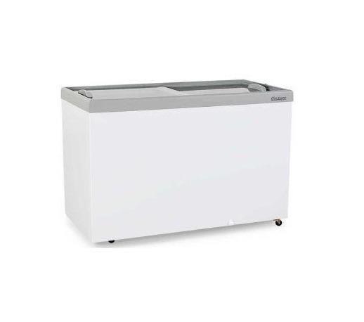 Freezer Horizontal 410 Litros Tampa de Vidro Gelopar (Frete Grátis Pagamneto na Entrega)