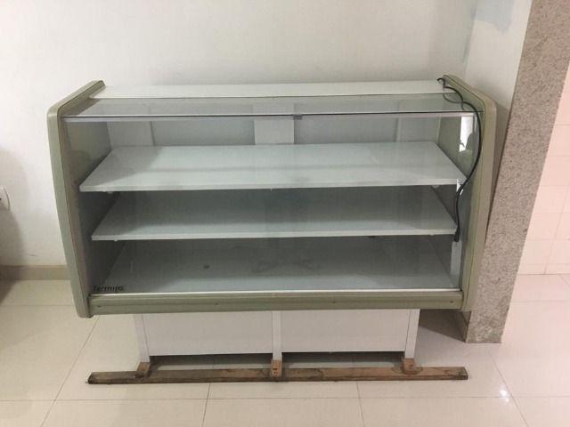 Balcão refrigerado seminovo, freezer,geladeira - Foto 2