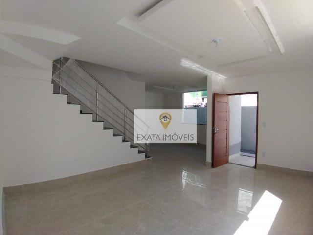 Lançamento! Casas 03 suítes a 150m da Rodovia, Jardim Marilea/Rio das Ostras. - Foto 2