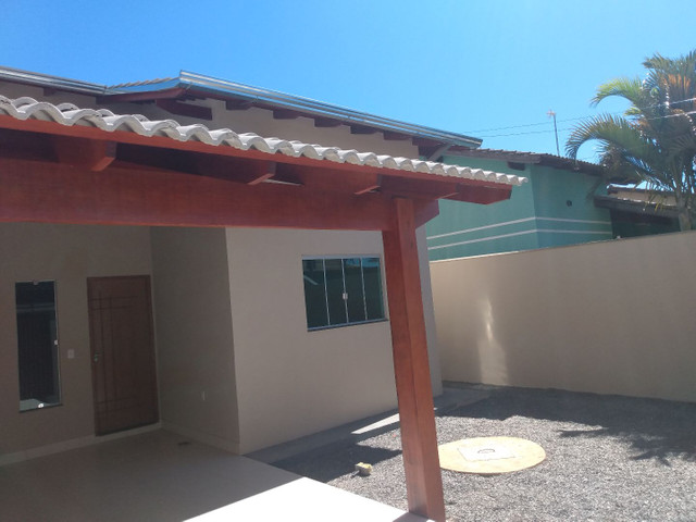 Casa aldeia dos sonhos com pé direito duplo, porcelanato e churrasqueira... Anápolis - Foto 3
