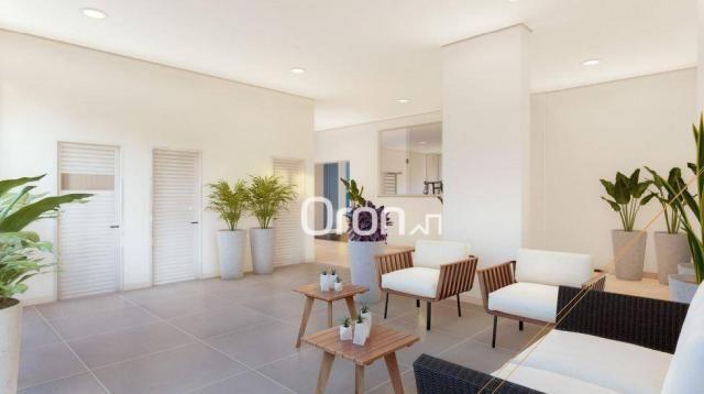 Apartamento com 3 dormitórios à venda, 87 m² por R$ 405.000,00 - Setor Pedro Ludovico - Go - Foto 8