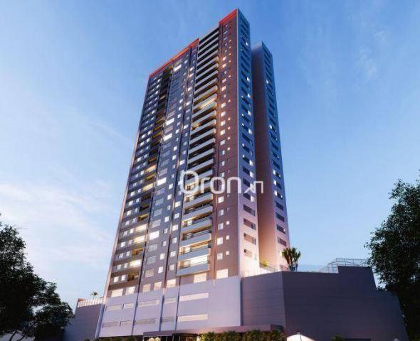 Apartamento com 3 dormitórios à venda, 87 m² por R$ 405.000,00 - Setor Pedro Ludovico - Go - Foto 3