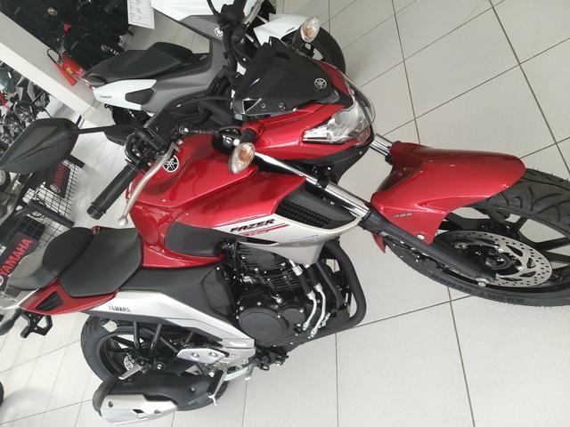 Entrada de R$ 4100 + 48x 598 Yamaha Fazer 250cc ABS 21/21 Imperdível - Foto 8