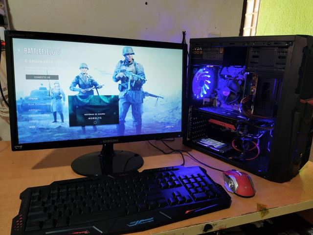 PC gamer i7 FORTNITE monitor full HD - Foto 5