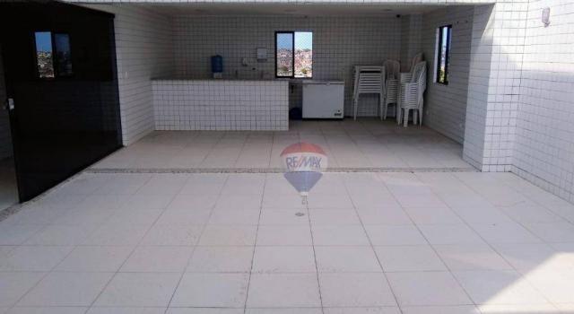 Flat com 1 dormitório para alugar, 38 m² - Poço - Recife/PE - Foto 16