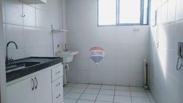 Flat com 1 dormitório para alugar, 38 m² - Poço - Recife/PE - Foto 6