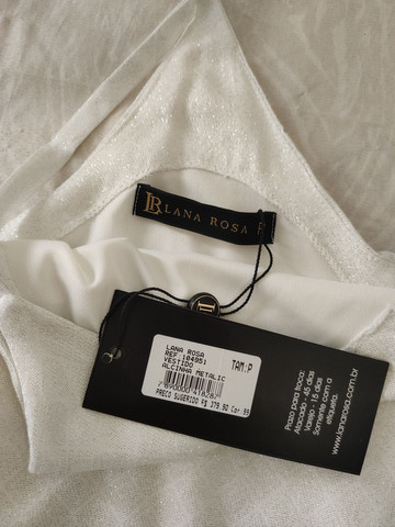 Vestido branco com franjas - Foto 2