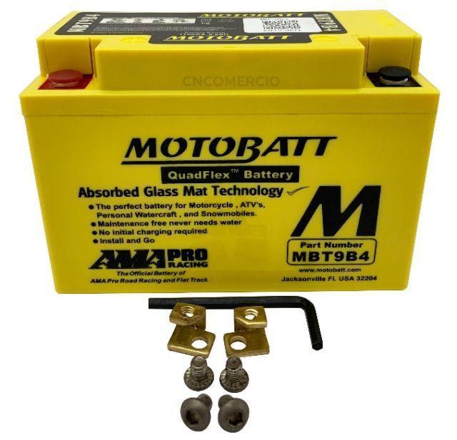 Bateria Agm Motobatt Mbt9b4 Yamaha Xt 660 R Xt 660 Z Tenere Xt 660 X Supermoto R6 96-05