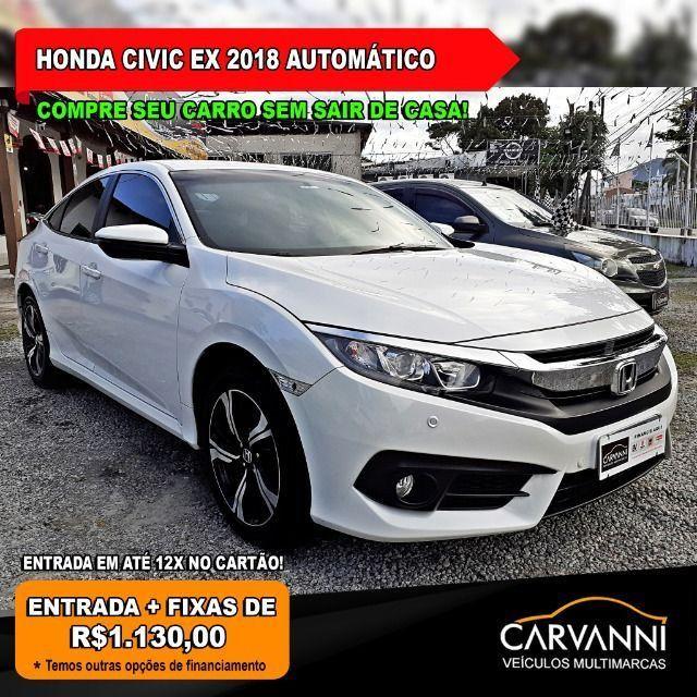 Honda Civic EX 2018 Automático * Apenas 23.000 km