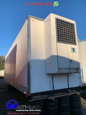 Bau termico 8.50mts conjunto com maquina de frio super ii max Mathias implementos