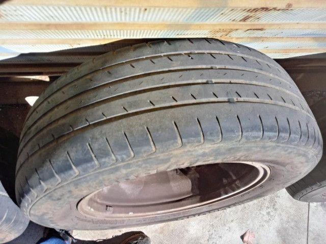 Jogo Roda Pneu Aro 17 Honda Crv 2011 - Foto 13