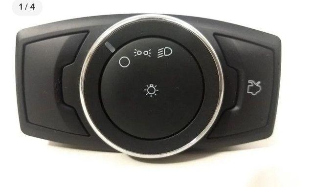 Botão Chave Interruptor Faróis E Porta Mala Ford Novo Ka!
