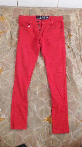 Calça masculina skini  - Foto 2
