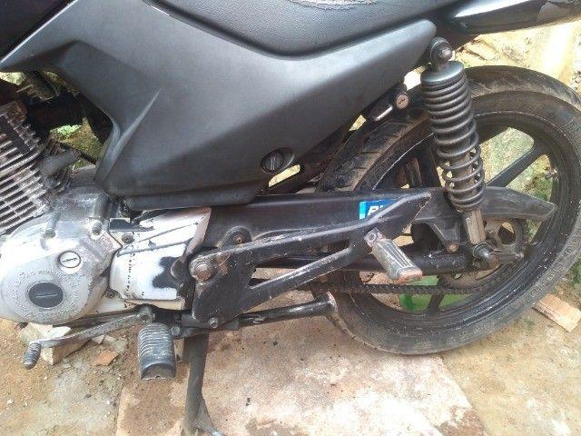 Moto Yamaha Ybr Factor 125 ED 2009 toda em dia e placa Mercosul (LEIA A DESCRIÇÃO) - Foto 6