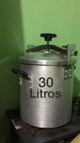 Fogão industrial e Panela de Pressão 30 Litros - Foto 4