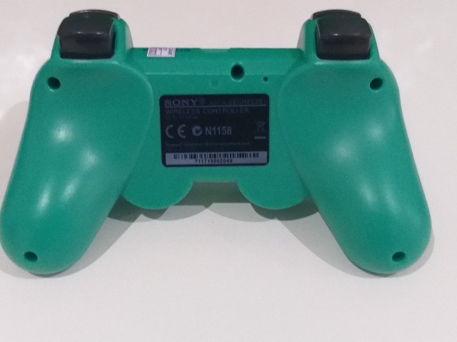 Controle Playstation 3 Sony Cor Verde - Foto 6