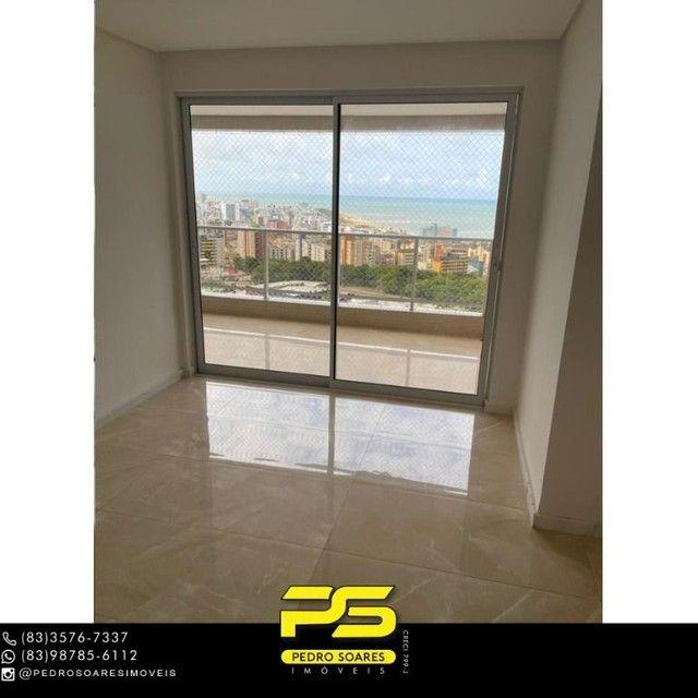 Apartamento com 3 dormitórios para alugar, 190 m² por R$ 6.200/mês - Altiplano Cabo Branco - Foto 3