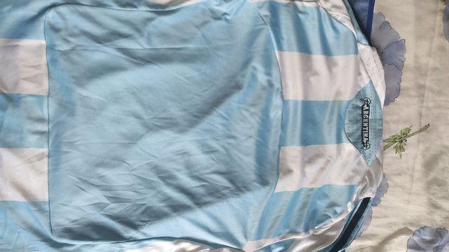 Camisa Argentina Adidas M 2006 - Foto 3