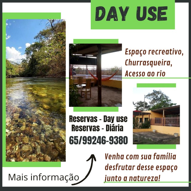 Espaço para lazer em estrada de Chapada com acesso ao rio - Foto 2