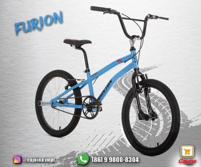 Bicicleta Infantil Aro 20 Houston Furion - Azul T17sd9sd21 - Foto 2