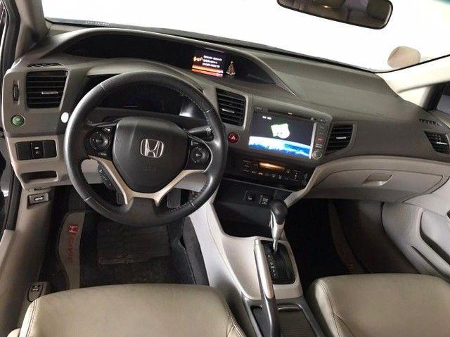 Honda Civic lxs 1.8 automatico 2014 - Foto 10