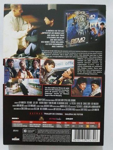 DVD Remo desarmado e perigoso (com Luva) - Foto 2