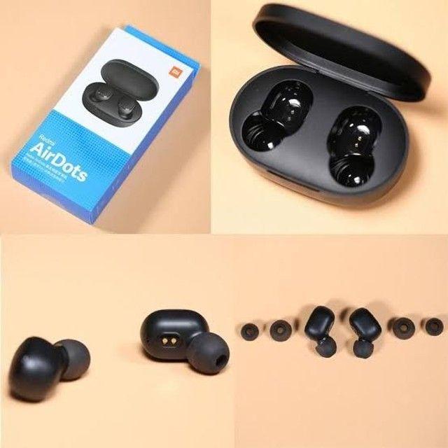 Fone sem fio Redmi AirDots Tws Bluetooth 5.0 Xiaomi  - Foto 3
