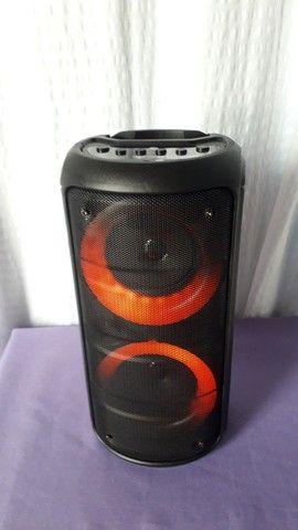 Caixa de Som Bluetooth Kts Leds rgb - Foto 2