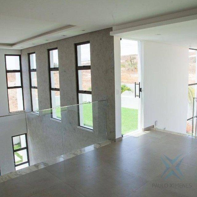 mansão com vista mar no aquiraz riviera com 5 dormitórios à venda, 419 m² por R$ 2.700.000 - Foto 10