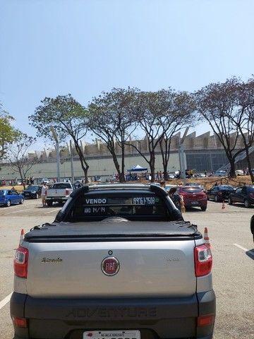 pick-up fiat strada, manual, chave reserva, - Foto 4