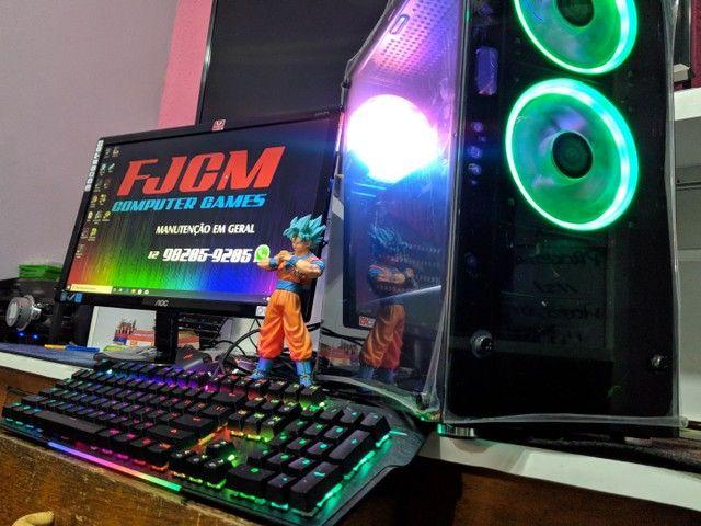 PC GAMER COMPLETO com garantia  FORTINATE  GTA  DOTA 2 etc  - Foto 4