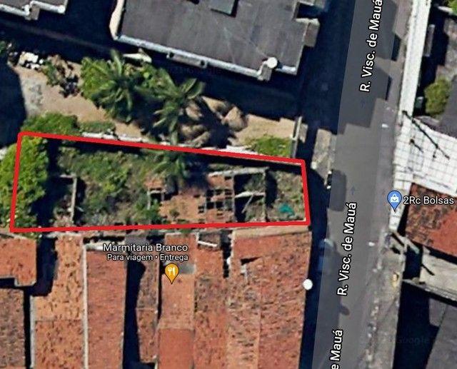 Terreno 6,60 X 27,00, 178 m² por R$ 220.000 - Dionísio Torres - Fortaleza/CE - Foto 2