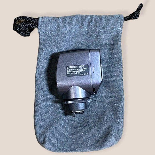 Iluminador Sony Hvl-hfl1 Com Luz E Flash Para Filmadoras  - Foto 2