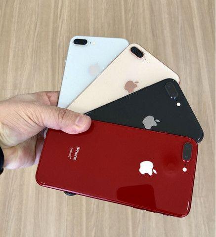 Apple Iphone 8 plus swap 64gb na cor Branco Top em Gyn - Foto 6