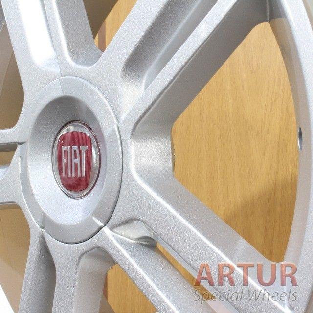 Rodas GRW Aro 18 Stilo 4X98 - Foto 4