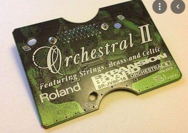 Placa De Expansão Roland Sr-jv80-16 Orchestral II - Foto 2
