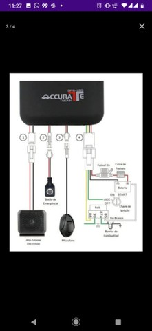 GPS Rastreador Gt06 Acurat