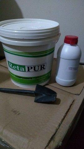 Cola retapur para telha de zinco - Foto 4