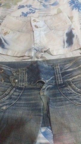 Lotinho de shorts jeans femenino - Foto 5