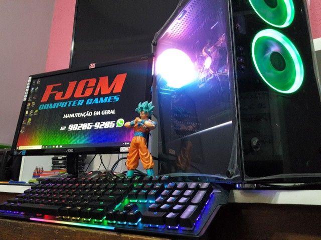 PC GAMER COMPLETO com garantia  FORTINATE  GTA  DOTA 2 etc  - Foto 3