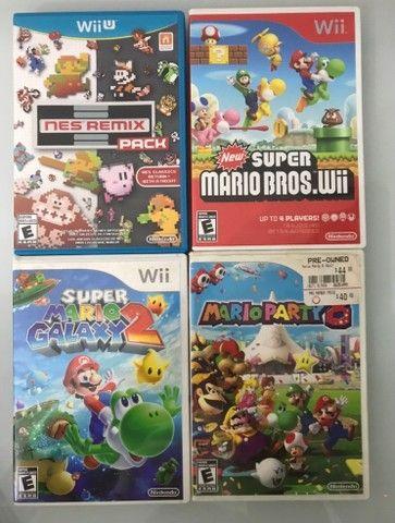 16 jogos pra Nintendo Wii e Wii U Mario Bros - Foto 3