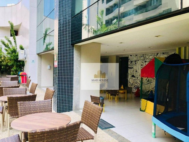 Apartamento com 3 dormitórios para alugar, 81 m² por R$ 3.500/mês - Boa Viagem - Recife/PE - Foto 3