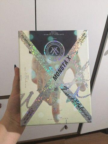 album kpop monsta x beautiful versão brilliant com brindes