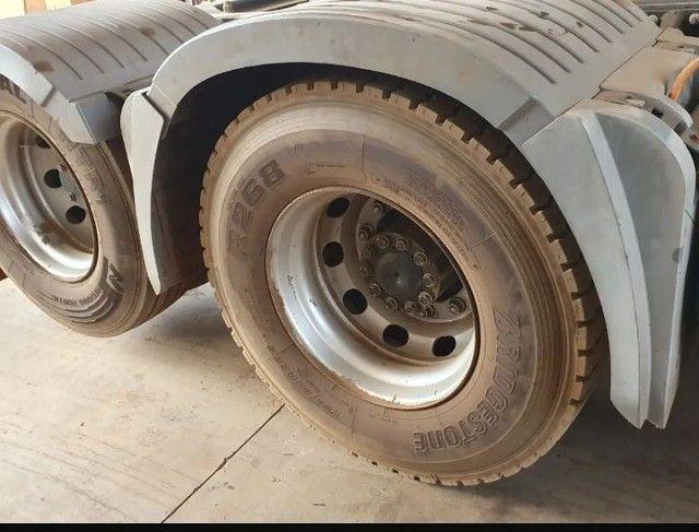 Mercedes-benz Axor 2536 6x2 Ano 2016 Teto Alto - Foto 3