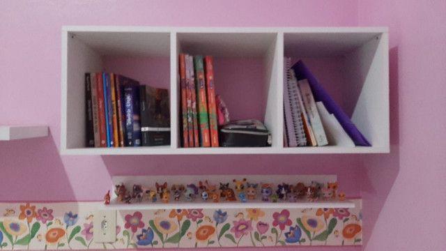 Nicho com divisórias / livros/ brinquedos Novo MDF