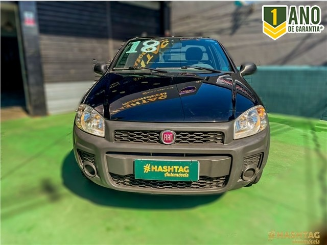 Fiat Strada 2018 1.4 mpi hard working ce 8v flex 2p manual - Foto 4