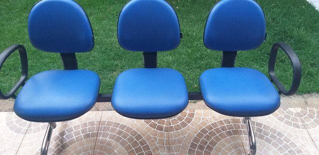 Cadeiras Longarinas. - Foto 4