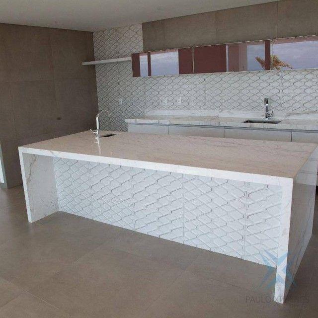 mansão com vista mar no aquiraz riviera com 5 dormitórios à venda, 419 m² por R$ 2.700.000 - Foto 4
