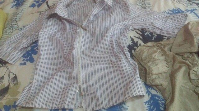 Camisas femeninas duas por 40,00 - Foto 2